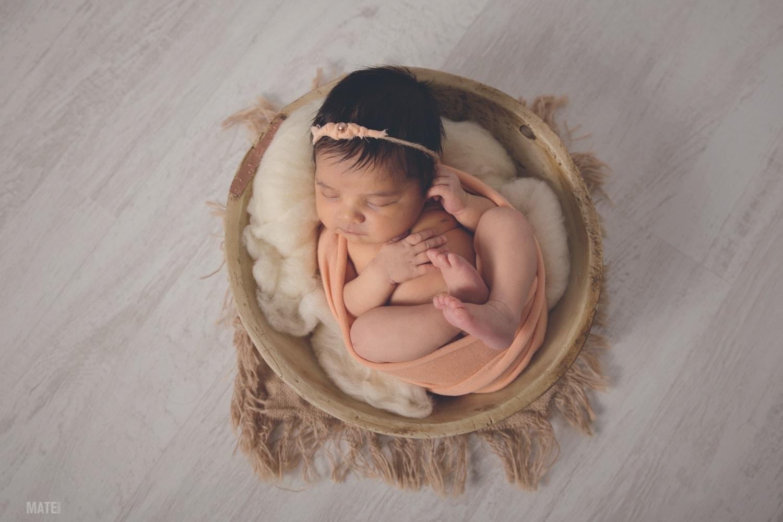 atrezzo sesion de fotos newborn en lugo
