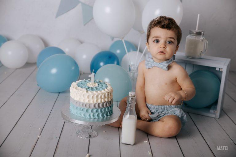 fotografia smash cake cumpleanos bebes estudio en lugo
