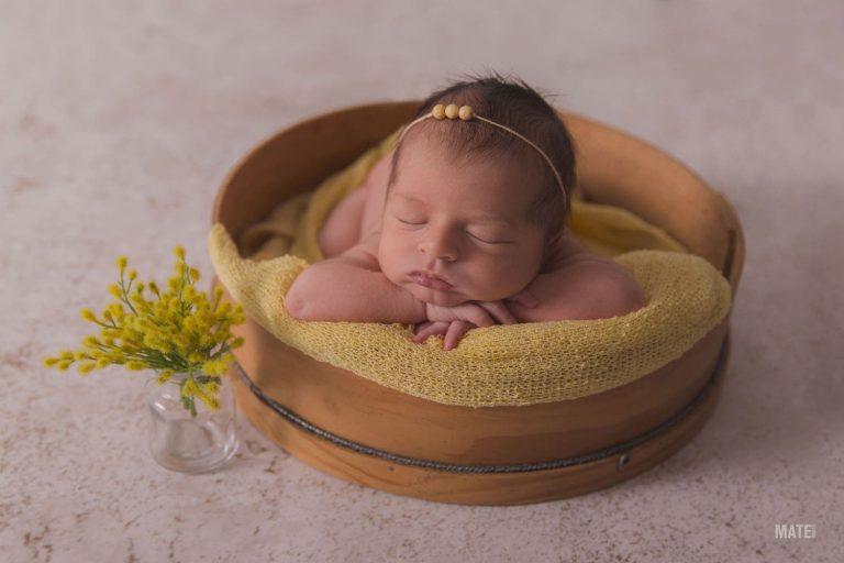 reportaje de fotos de bebes recien nacidos newborn en lugo