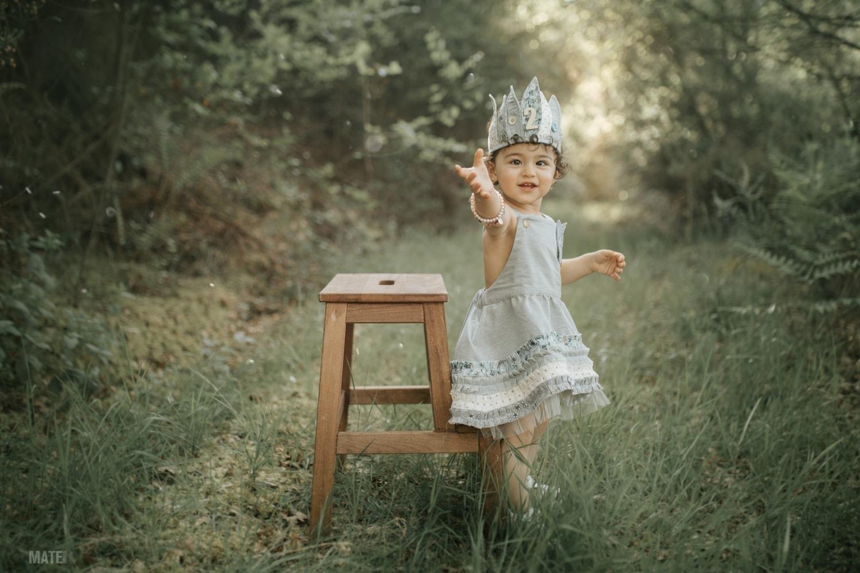 sesion infantil en la naturaleza en lugo