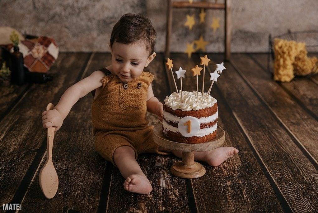 Sesion de cumpleaños smashcake mate estudio