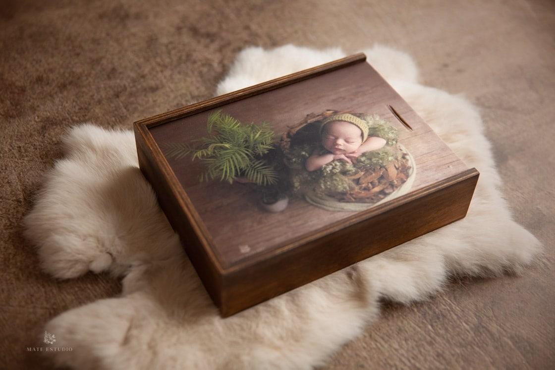 Caja personalizada para fotos