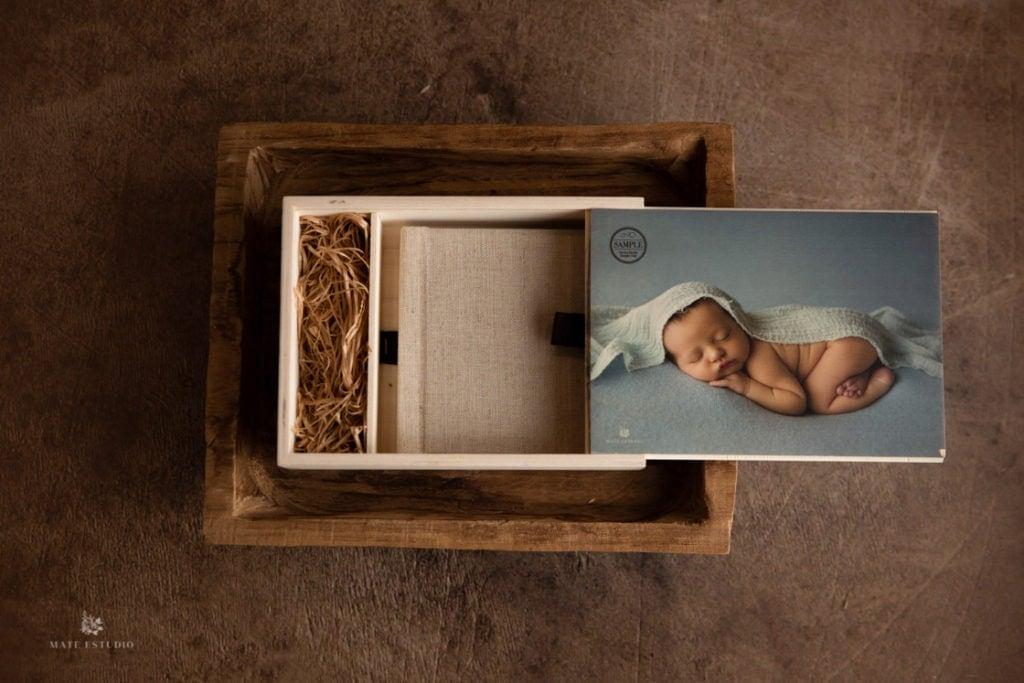 mini album newborn mate estudio